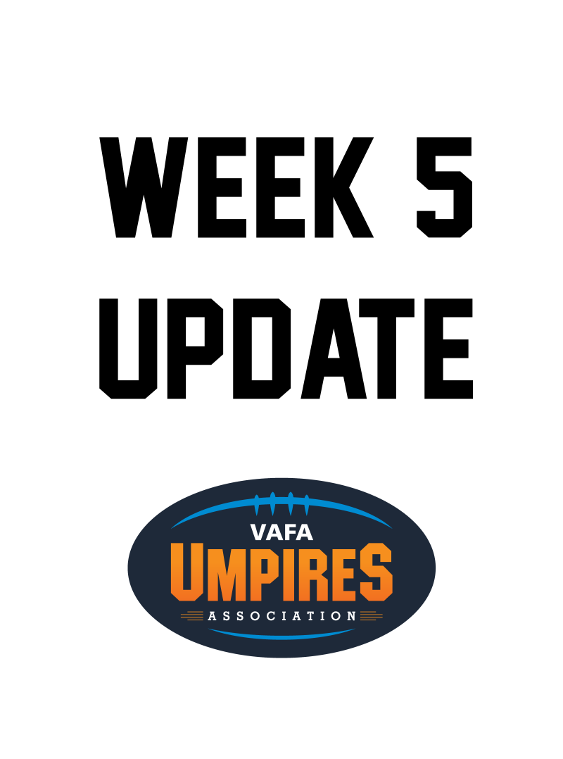 Pre Season Week 5 Update